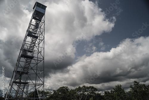 Fotografia, Obraz  Overlook Fire Tower