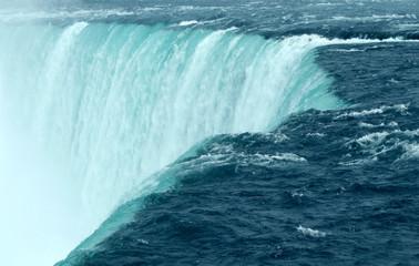 Panel Szklany Wodospad Niagara Falls Close Up