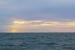 Beautiful Sunset view on Yacht, Pattaya, Thailand