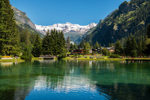 Lago Gover, Gressoney-Saint-Jean, Aosta, Valle D'Aosta, Italia