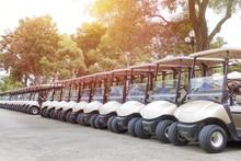 A Roll Of Golf Cart