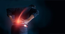 Man Suffering From Back Pain C...