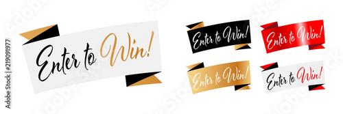 Enter to win ! Fototapete