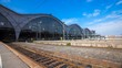 4K Timelapse of the Leipzig main Train Station in Eastern Germany