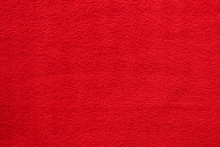 Red Fleece Texture