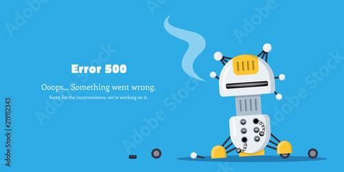 Fotografia  Error page design