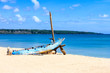Old boat on Jimbaran beach