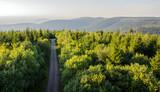 Fototapeta Na ścianę - Traumhafte Aussicht auf Schwarzwald vom Hohlohturm Kaltenbronn