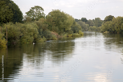 River at Upton upon Severn; England