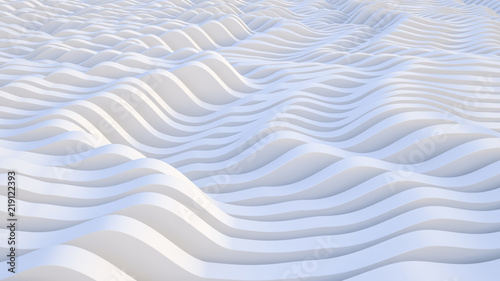 lines, wave. abstract background. modern parametric surface. White texture. futuristic view.