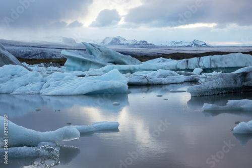 Poster Glaciers Fjallsárlón: der versteckte Gletschersee auf Island