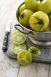 ripe green tomatoes