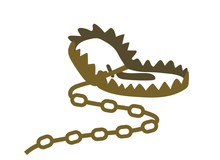 Animal Trap Iron Metal Vector ...