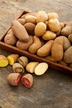 Preparing Fresh Potatoes