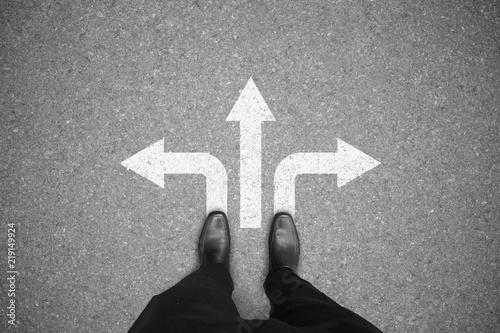 Fototapeta Business decision making concept