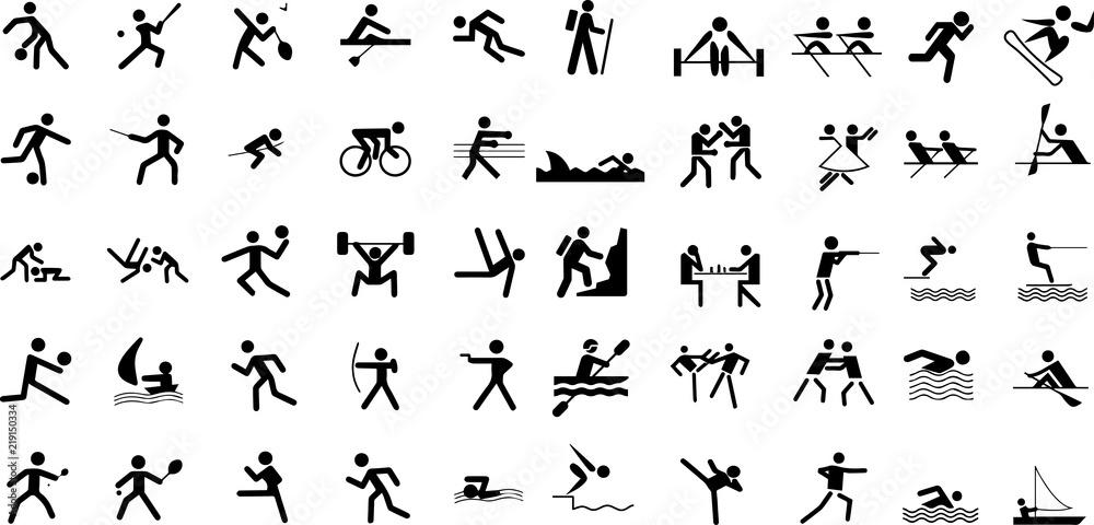Piktogramy związane ze sportem