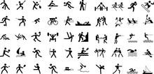 スポーツ関係のピクトグラム