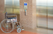 Wheelchair And Elevator For Di...