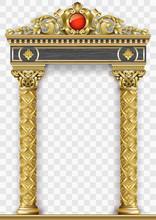 Golden Luxury Classic Arch Por...