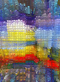 Abstraction. Graphic arts. Painting. Abstract. Art