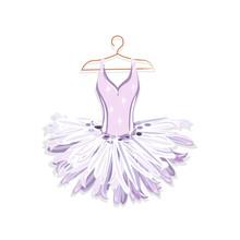 Ballet Tutu On A Hanger