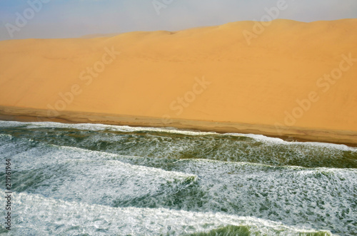 Foto op Aluminium Kust The coastline in Namibia