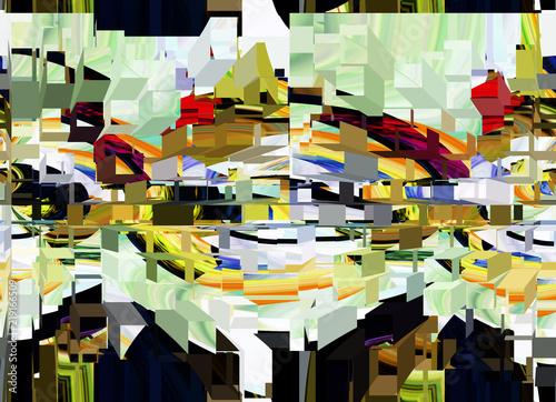abstrakcyjna-grafika-3d-z-postrzepinych-ksztaltow