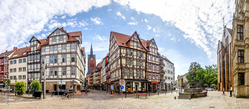 Obraz Hannover, Holzmarkt  - fototapety do salonu