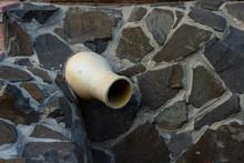 Yellow Jug, Stuck In A Stone W...