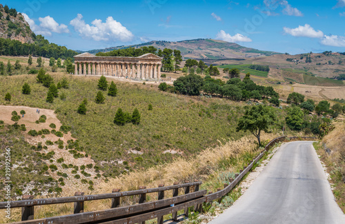 Fotografie, Obraz  The Temple of Venus in Segesta, ancient greek town in Sicily, southern Italy