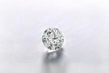 Round Loose White Diamond