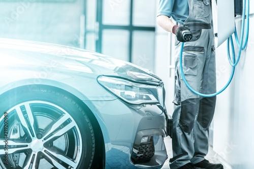Plug In Hybrid Vehicle Fototapete