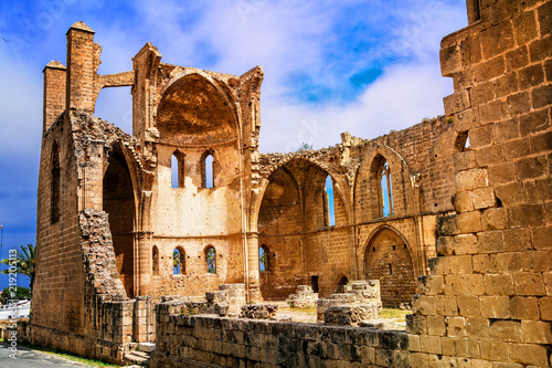 Ruins of St Georges Church Magosa Northern Cyprus
