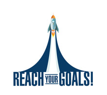 Reach Your Goals Rocket Smoke ...