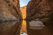 canvas print picture - Santa Elena Canyon in Big Bend National Park, Texas