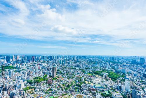 Staande foto Tokio 夏の東京風景 Tokyo city skyline , Japan