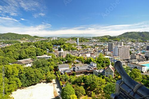 Photo 福山城からの眺め 広島県福山市