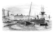 View Of Part Of The Harbor Bef...