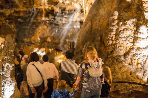 Canvas Print LaRay Caverns