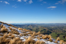 The View From The Summit Of Mt Grey On A Clear Winter's Day