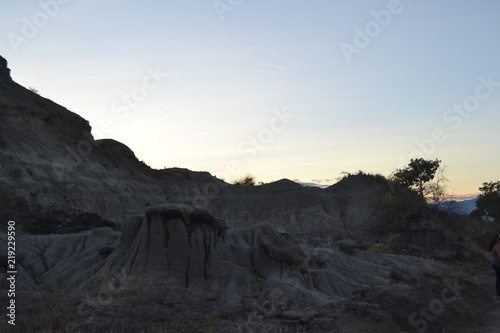 Foto op Plexiglas Grijze traf. Desierto de la Tatacoa