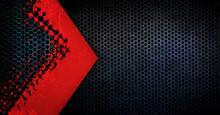 Grunge Iron Mesh Background