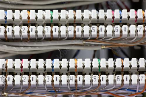 Fotografia, Obraz Commutation field of the switch