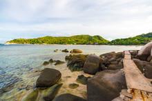 Rocky Sea Beach Andaman Coast ...