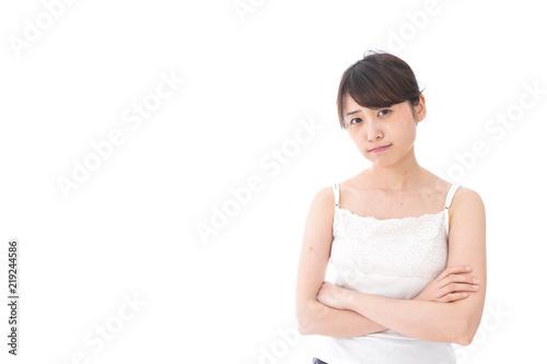 Fotografia  腕を組む美容女性