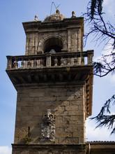 Santa Catalina Monastery In Ares -  Spain