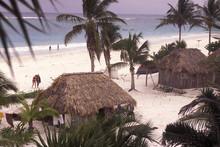 MEXICO YUCATAN TULUM BUNGALOW ...
