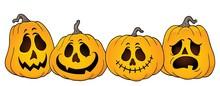 Halloween Pumpkins Thematics Image 1