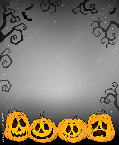 Halloween pumpkins thematics image 3