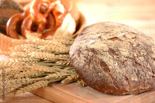 Deurstickers Bakkerij Brot Getreide